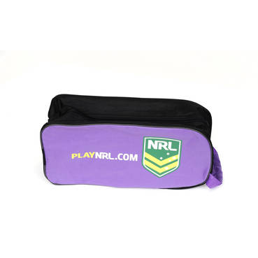 NRLGD Purple Boot Bag