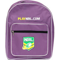 NRL Backpack - available in two colours0